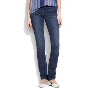 MADEWELL Rail Straight Western Wash Denim Jeans